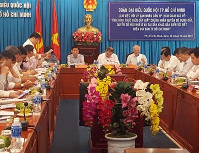 TPHCM cấp được 1,5 triệu giấy chứng nhận quyền sử dụng đất