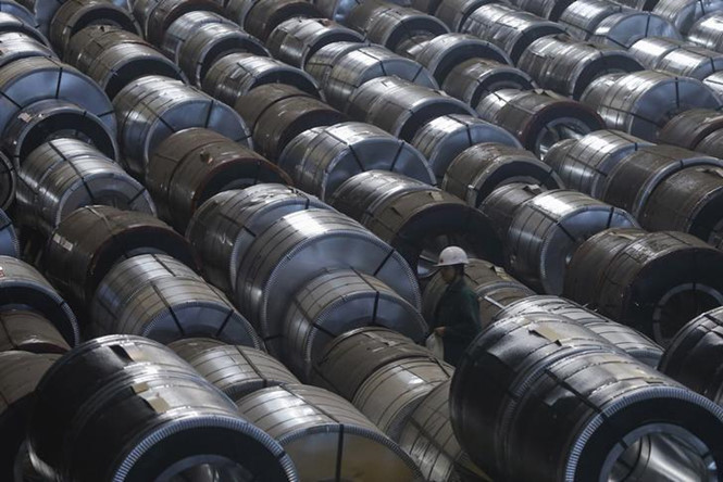 Mỹ áp thuế khủng gần 800% lên thép Nga
