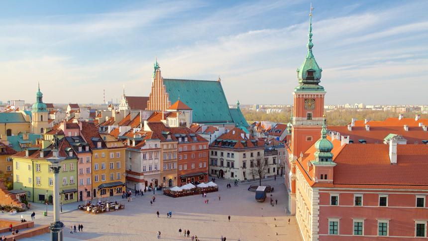 Những thành phố tuyệt đẹp hồi sinh từ đống đổ nát
