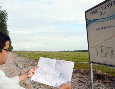 Chưa được phê duyệt đầu tư vẫn ký hợp đồng cho thuê đất