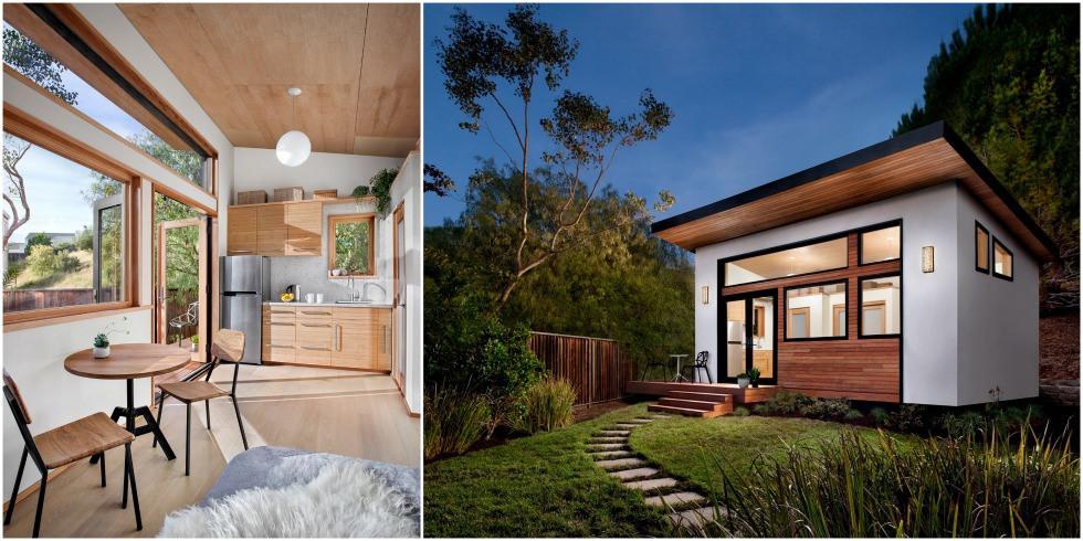 7 căn nhà siêu nhỏ thiết kế ấn tượng