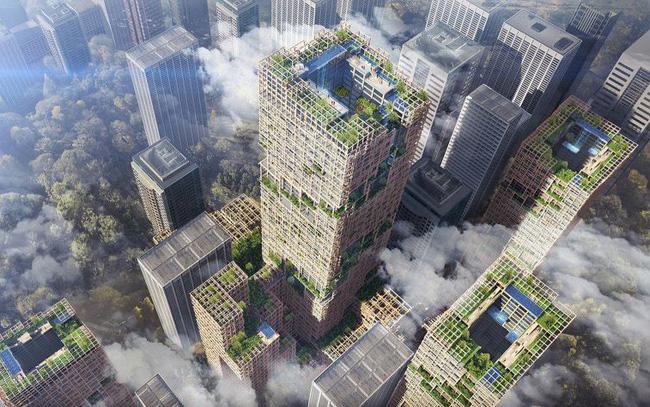 Nhật Bản lên kế hoạch xây tòa nhà chọc trời bằng gỗ cao nhất thế giới