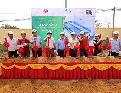 Toàn Thịnh Phát trở  thành đơn vị tổng thầu thi công của dự án Nhà xưởng Vinh Cường tại Long An