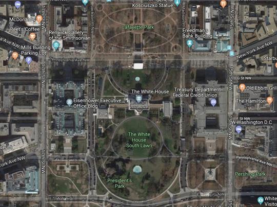 Khám phá những khu vườn bí mật của Nhà Trắng