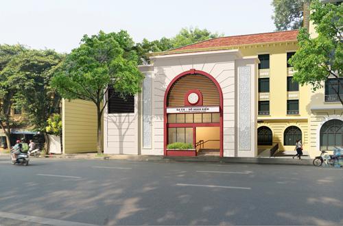 Bộ Văn hóa tiếp tục đề nghị xây ga tàu điện ngầm xa hồ Hoàn Kiếm
