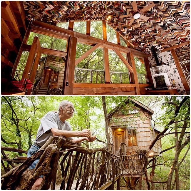 Chẳng ai nghĩ rằng 10 ngôi nhà đẹp tựa như tranh này lại được làm ra từ những đồ tái chế
