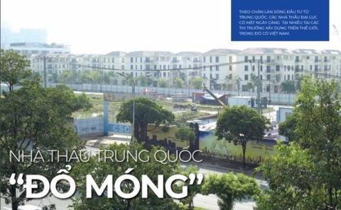 Nhà thầu Trung Quốc 'đổ móng' ở Sài Gòn