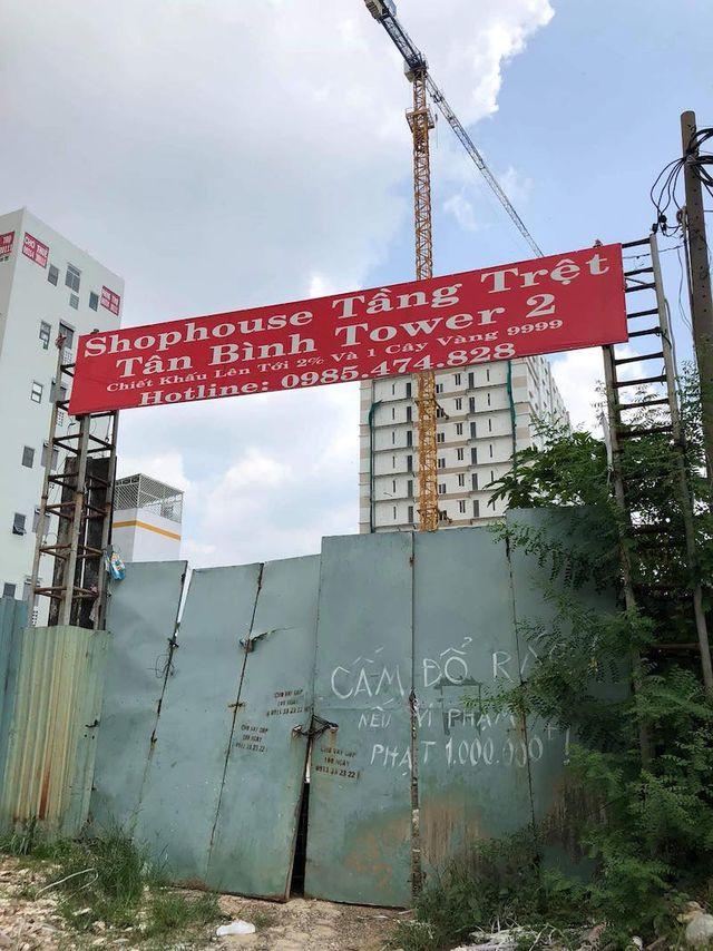 """Dự án Tân Bình Apartment vẫn chưa """"gọt"""" tầng xây dựng sai phép"""