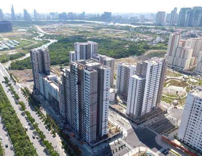 Giá căn hộ trung cấp Tp.HCM tăng hơn 50% trong vòng 2 năm