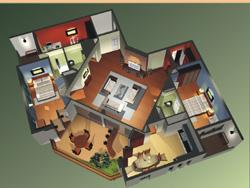 2365 vinaconex thaodien 010807 hinh3 Tổng quan và quy mô dự án khu nhà ở cao tầng Vinaconex Thảo Điền