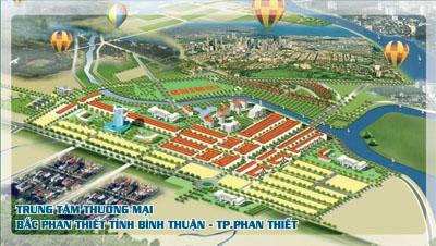Khu dân cư TTTM Bắc Phan Thiết