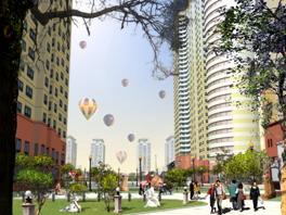 7407 vinaconex thaodien 010807 hinh2 Tổng quan và quy mô dự án khu nhà ở cao tầng Vinaconex Thảo Điền