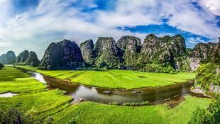 Sông Ngô Đồng - Tam Cốc - Ninh Bình