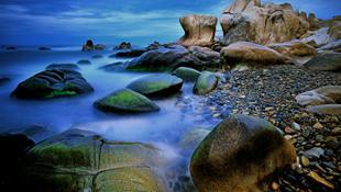Một góc biển Cổ Thạch