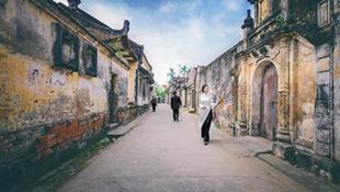 Làng quê Việt Nam đẹp như tranh vẽ trong những ngày giáp tết